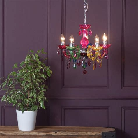 Coloured Chandelier How To Make A Style Statement With Coloured Chandeliers Litecraft