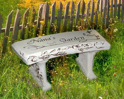 personalized garden bench personalized memorial benches for gardens garden ftempo