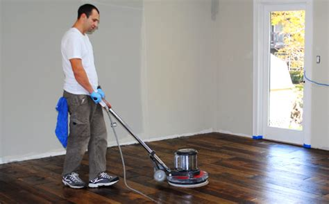 Hardwood Floor Buffer Buffing And Recoating Hardwood Floors