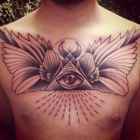 tattoo eye chest illuminati tattoo google zoeken theworkofilluminati