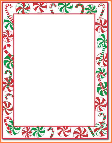 christmas letterhead templates company letterhead