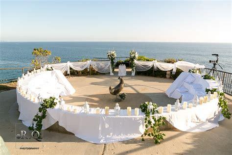 wedding in laguna ca candlelight wedding at crescent bay in laguna ca yelp