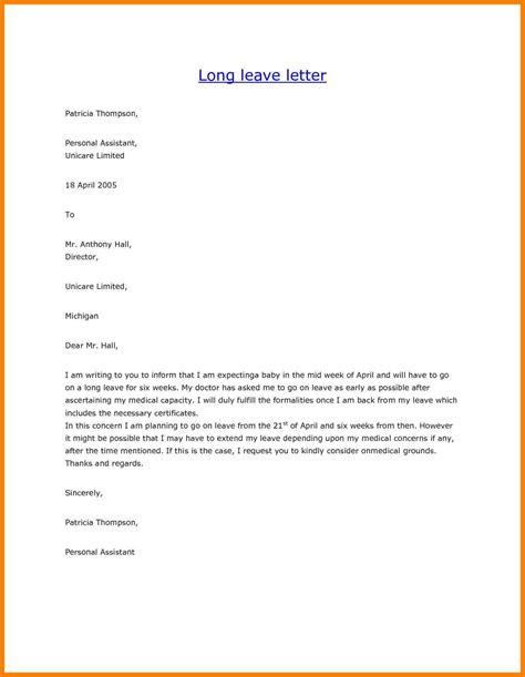 vacation leave letter sample brittney taylor