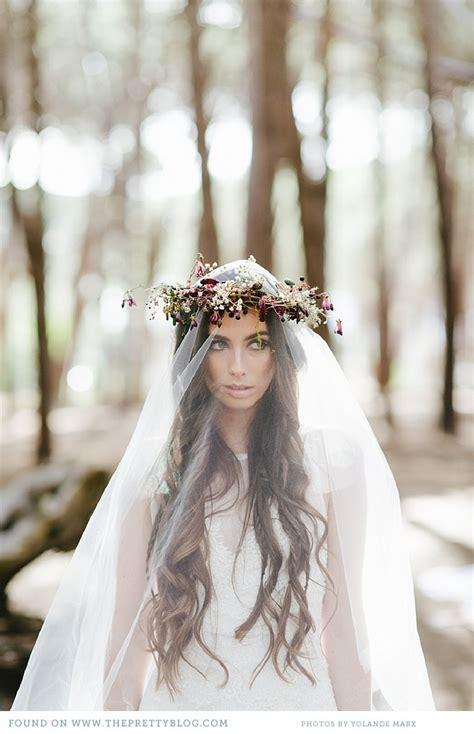 Flower Wedding Veil fabulous flower crowns the bridal hair accessory