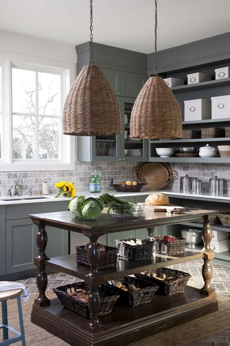 gray green kitchen cabinets cottage kitchen southern