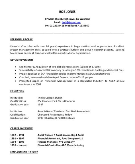 resume format for accountant executive 40 free accountant resume templates pdf doc free