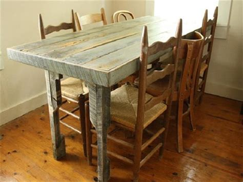diy recycled pallet dining table ideas pallets designs