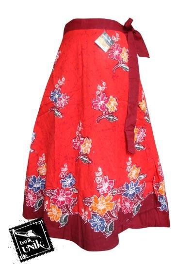 Rok Lilit Batik Cap Motif Gajah rok batik lilit pendek motif cap sekar ikat murah