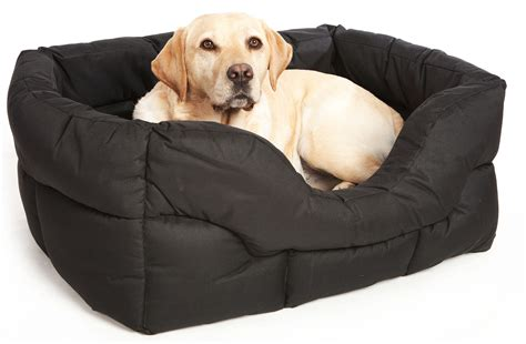 pets and dogs country heavy duty waterproof rectangular drop front beds by pets and leisure