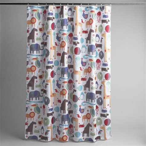 Sears Fabric Shower Curtains by Colormate Jungle Fabric Shower Curtain