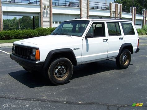 jeep cherokee sport white 1995 stone white jeep cherokee sport 51669994 photo 9