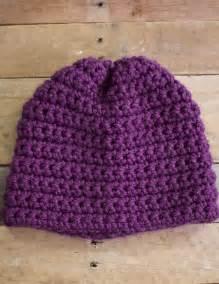 simple crochet hat 1