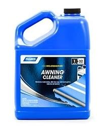 camco rv awning cleaner 1 gallon camco awning cleaner