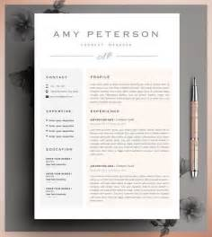 Resume Cv Template by Best 25 Resume Templates Ideas On
