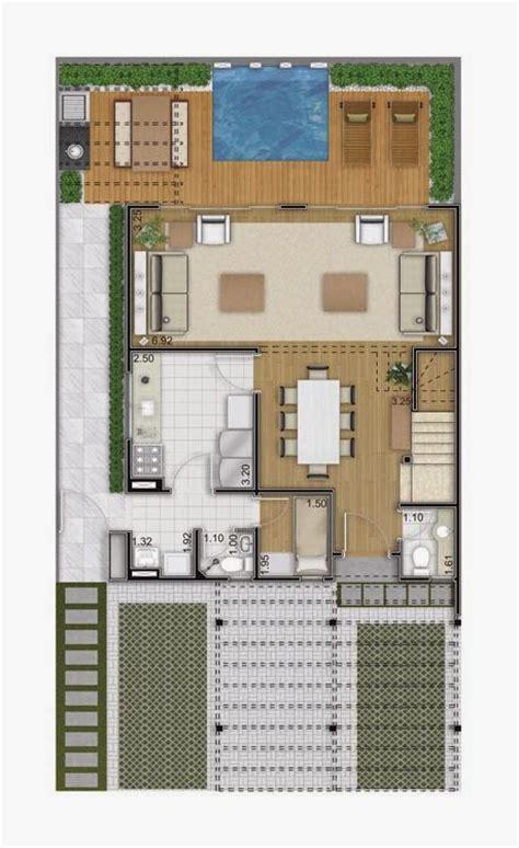 planta de casa sobrado de 126 m2 plantas de casas