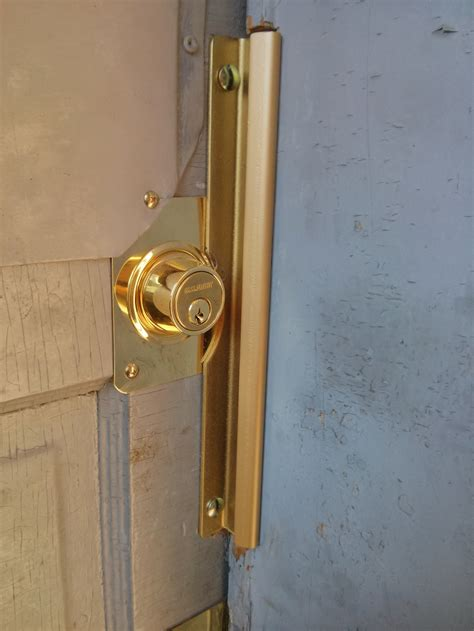 How To Pry A Door Open by Before And After Basement Door In Repair Phs