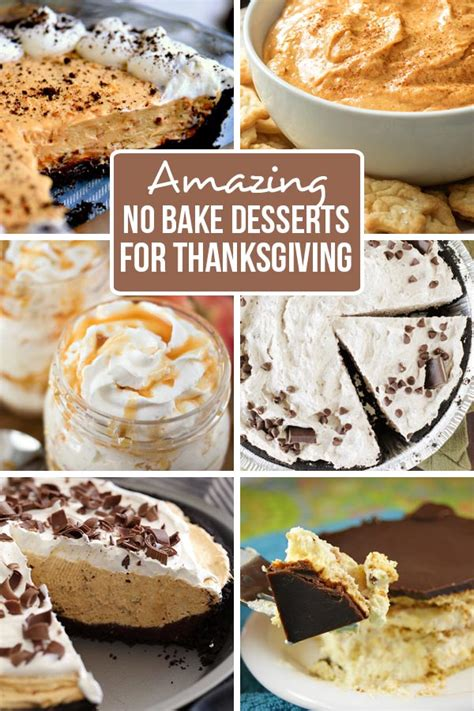 amazing no bake thanksgiving desserts family fresh meals