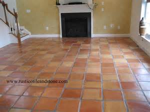 mexican floor tile terra cotta saltillo clay