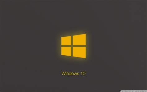 wallpaper windows 10 technical preview download windows 10 technical preview yellow glow hd