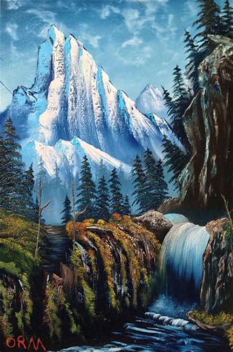 bob ross painting wildlife image gallery majestic paintings