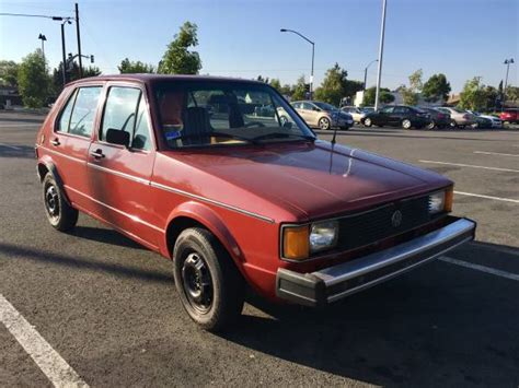 volkswagen rabbit 1981 volkswagen rabbit diesel buy volks