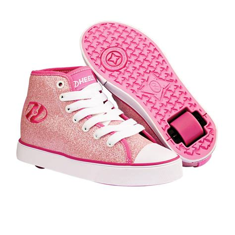 heelys shoes heelys veloz shoes pink glitter free uk delivery on