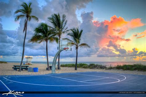 Wonderful Christmas Trees Miami #7: A275-Basketball-Court-at-Beach-Fort-Lauderdale-Beach-Park-Original.jpg