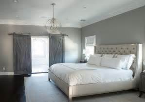 light gray paint colors contemporary bedroom farrow