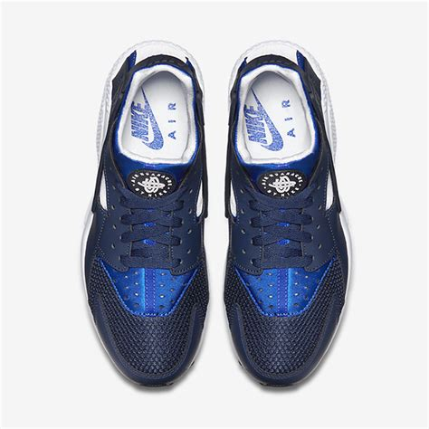 Geoff Max Travis Navy White nike air huarache quot midnight navy quot sneakernews