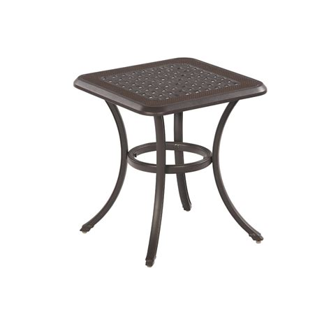 Lowes Patio Side Table by Enlarged Image