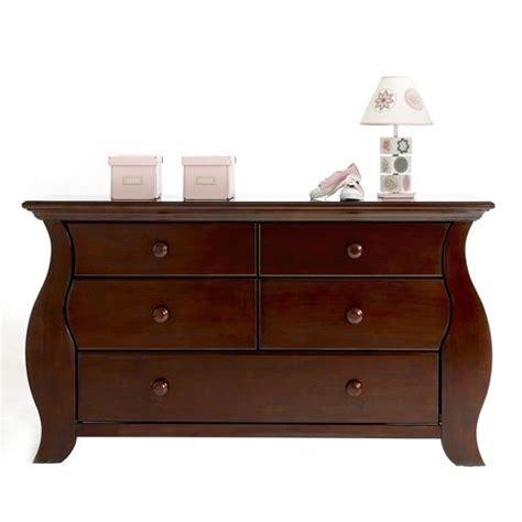 Baby Cache Dresser Cherry by Baby Cache Oxford Combo Dresser Cherry
