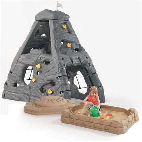 step 2 swing and slide combo skyward summit sandbox combo outdoor play by step 2