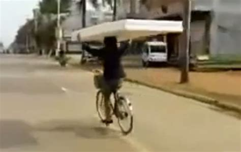 Carrying A Mattress by You It Better Than This Carrying His Mattress