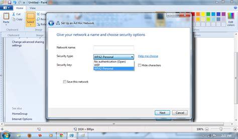 cara membuat jaringan wifi pada windows 8 pengertian dan cara membuat jaringan wifi ad hoc pada win