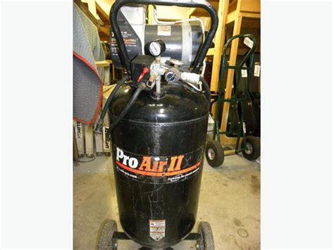 devilbiss pro air ii 6hp 25 gallon upright less air compressor city