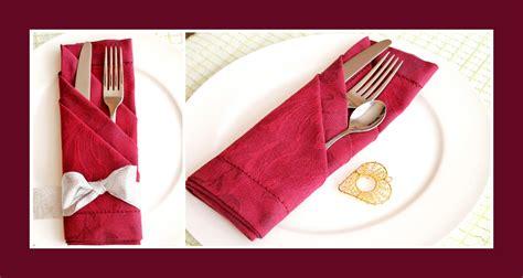 servietten tasche falten servietten falten bestecktasche tischdekoration