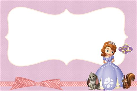 princess sofia   party invitations