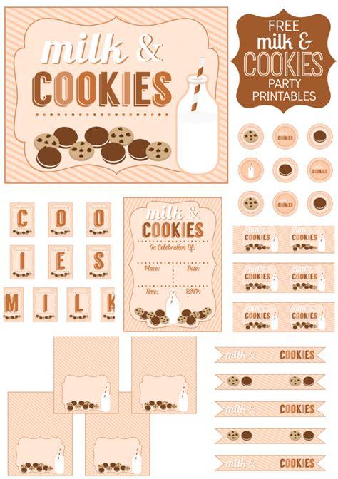 Free Cookie Printables