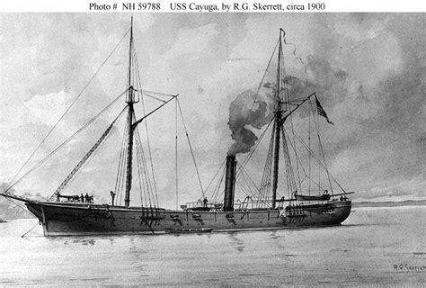 industriele len wit usn ships uss cayuga 1862 1865