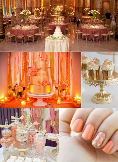 best 25 coral gold weddings ideas on coral wedding themes coral wedding colors and