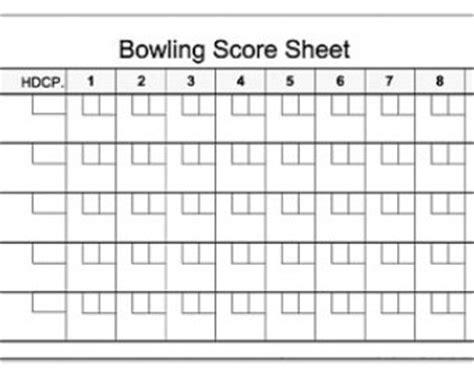Ten Pin Bowling Score Sheet Template by Bowling Score Pad 3 5 Quot X 8 5 Quot 50 Sheets Notepad