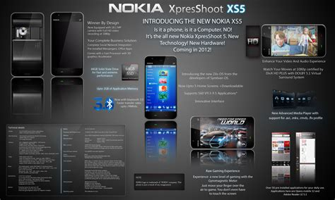 latest nokia android phones nokia xs5 concept