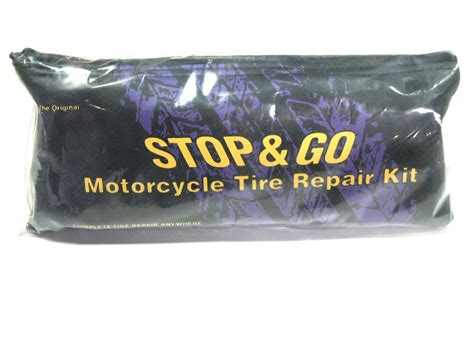 Vender Rubber Type W tire plugger repair kit w engine adapter by stop