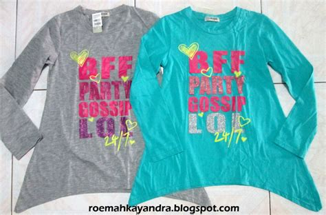 Kaos Nevada Ld 100 Size S by Roemah Kayandra Kaos Nevada Bff Gossip