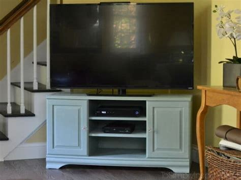 chalk paint tv stand chalk paint tutorial tv stand makeover