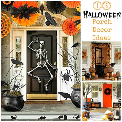 halloween home decor pinterest i dig pinterest 15 halloween porch decor ideas loversiq