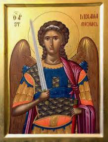 Decorated Candles Icamike4 Archangel Michael Icon St Joseph For