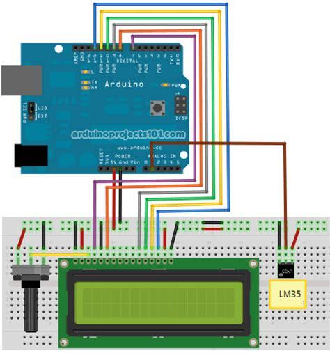 code arduino lm35 arif in blog u arduino ile dijital termometre