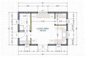 Small cabins tiny houses plans on a frame cabin house plan