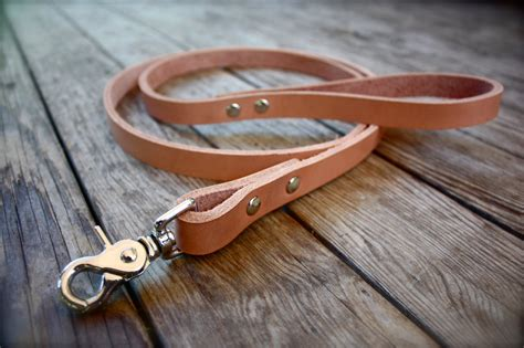 Handmade Leather Collars And Leashes - handmade leather leash